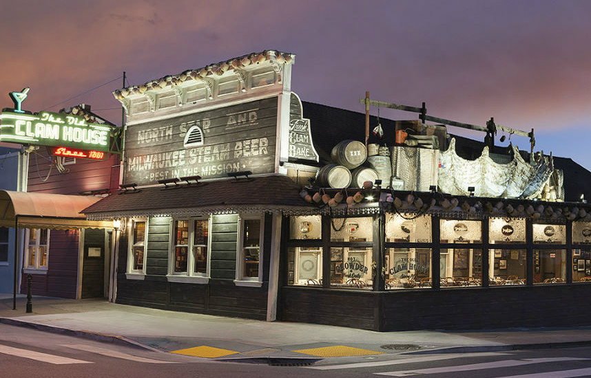 SF Restaurant Icon The Old Clam House For Sale