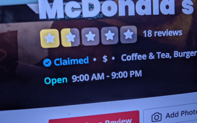 The True Cost of Bad Restaurant Reviews