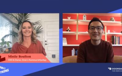 DoorDash Tony Xu AMA with Mistie Boulton – Full Interview (Video)